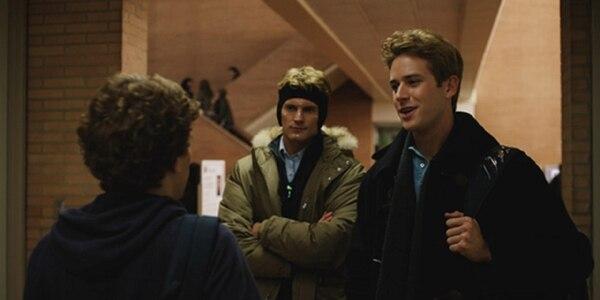 Los Winklevoss y Mark Zuckerberg, según la interpretación de David Fincher