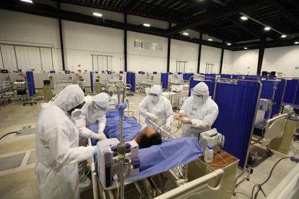 El mandatario aseguró que ya se está utilizando la reserva hospitalaria que tenían prevista para la contingencia Foto: Tw/@MPserable