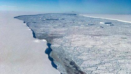 En las últimas décadas, el aumento de la temperatura media global ha producido la reducción de los glaciares y de las capas de nieve, así como del hielo marino del Ártico en extensión y espesor (Grosby)
