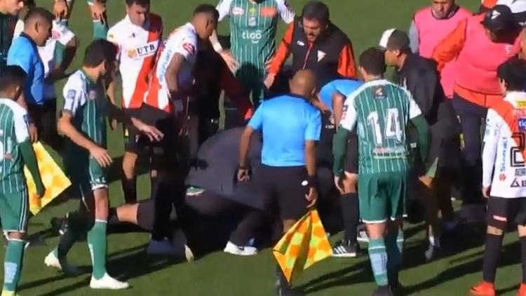 El partido se siguió jugando y terminó 5 a 0 en favor de Always Ready