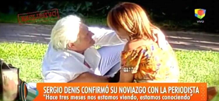 Segio Denis fue el comentario de todos los medios durante la última semana por su nuevo romance.