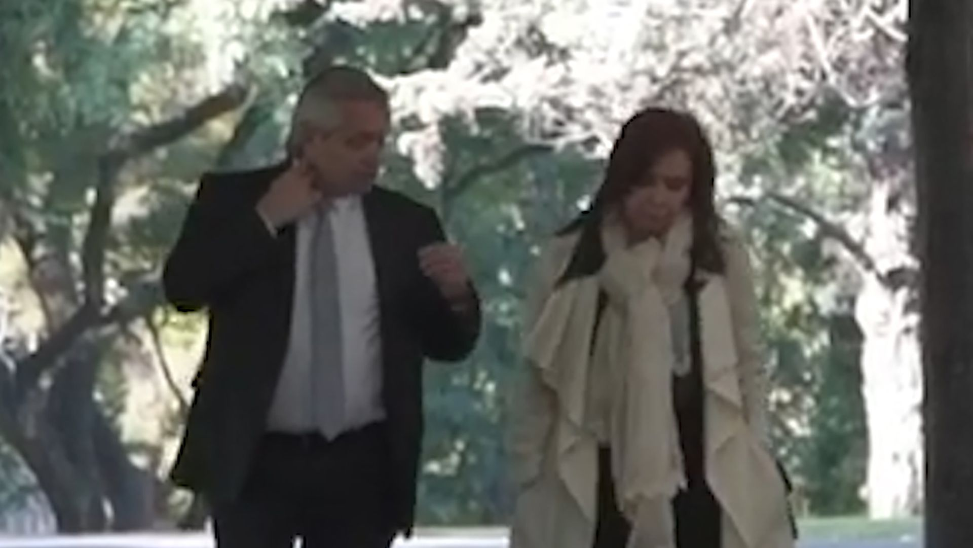 fotos del presidente alberto fernandez y cristina fernandez de kirchner