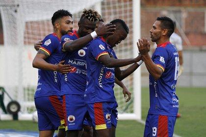 Deportivo Pasto buscará meterse en la final de la Copa BetPlay (Colprensa).