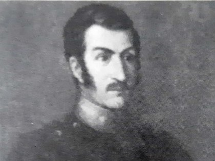 José de San Martín en la época en que era gobernador de Cuyo.
