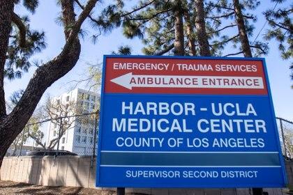 El Harbor-UCLA medical Center en el que se encuentra Tiger Woods (Reuters)