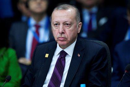 El presidente turco Recep Tayyip Erdogan (REUTERS/Toby Melville/File PhotoI