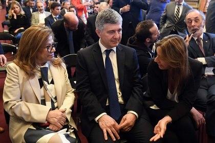 Estuvieron varios de los miembros del Consejo de la Magistratura, entre ellos, la diputada Graciela Camaño, el juez Juan Manuel Culotta y la abogada Marina Sánchez Herrera.
