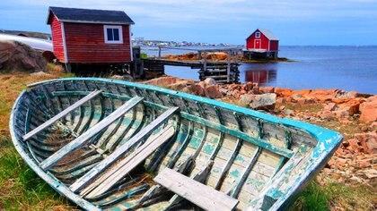 Fogo Island, una de las islas más alejadas del extremo oriental deCanadá (Getty)