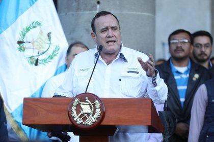 Alejandro Giammatti, Presidente de Guatemala Política Centroamericana Guatemala Gobierno Internacional de Guatemala