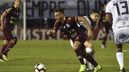 Ángel González jugará en Estudiantes de La Plata la próxima temporada (Photo by NORBERTO DUARTE / AFP)