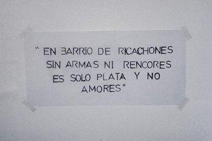 El mensaje que dejó la banda del robo del Banco Rio de Acassusso