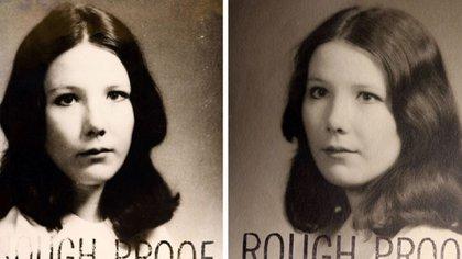 Las imágenes de Jane Britton que figuran en el expediente judicial