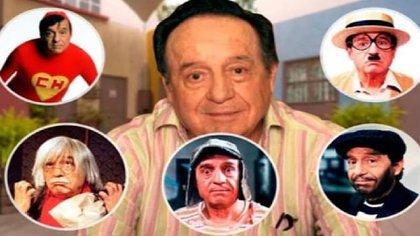 """""""Chespirito"""" creó y personificó más de una docena de personajes.  (Foto: Especial)"""
