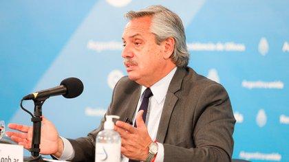Alberto Fernández adelantó que unas 10 millones de personas podrían ser vacunadas hacia fines de diciembre
