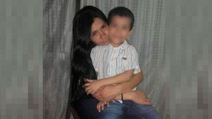 Laura Romero, de 40 años, y s hijo Thiago, de 7, fueron asesinados en la madrugada del 3 de abril de 2019