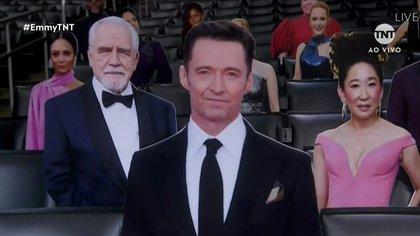 Una versión de cartón de los actores nominados apareció en las grapas del Staples Center (Foto: Archivo)