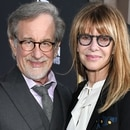 Mandatory Credit: Photo by Rob Latour/Variety/Shutterstock (9893892gr) Steven Spielberg and Kate Capshaw 'A Star is Born' film premiere, Arrivals, Los Angeles, USA - 24 Sep 2018