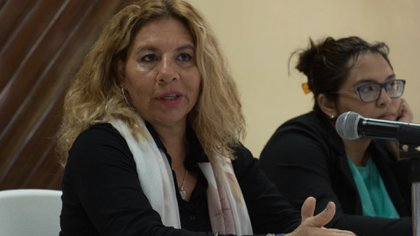 La legislador que presentó la iniciativa (Foto: Twitter/ @tsonialopez )