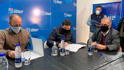 Daniel Arroyo viajó este viernes a La Rioja junto a la comitiva del presidente Alberto Fernández