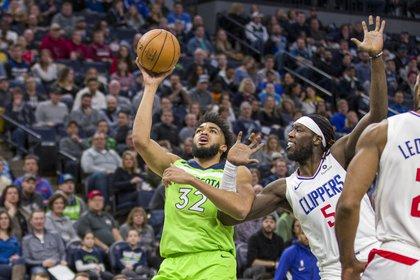 Karl-Anthony Towns será clave en Minnesota de cara a la nueva temporada de la NBA (Jesse Johnson-USA TODAY Sports)