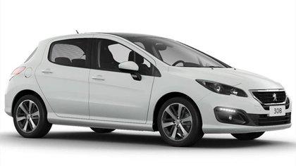 El Peugeot 308 Feline dispone de una bonificación de 195.000 pesos.