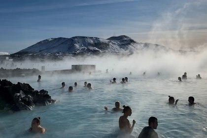 La Laguna Azul es la atracción turística más popular de Islandia (REUTERS)