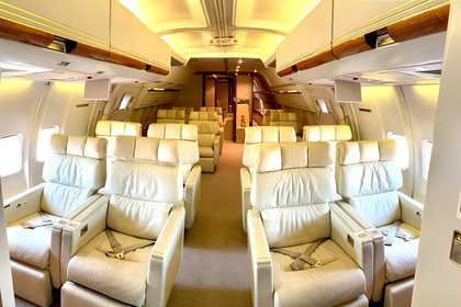 El Tango 01 tiene capacidad para 37 pasajeros (Presidencia)
