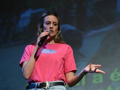 Melina Lezcano dio su charla sobre el rescate animal
