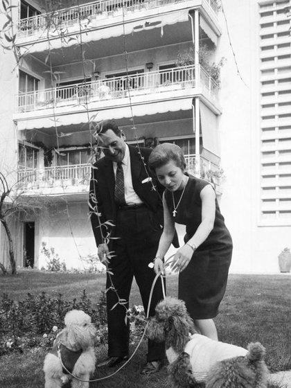 Perón, Isabel y sus perros caniches