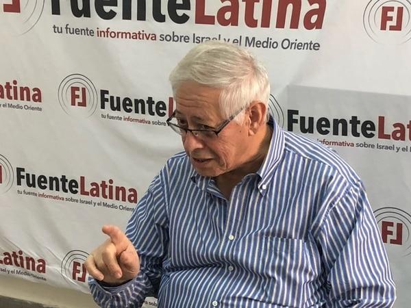 Eliahu Lopez, ex embajador israelí en Guatemala