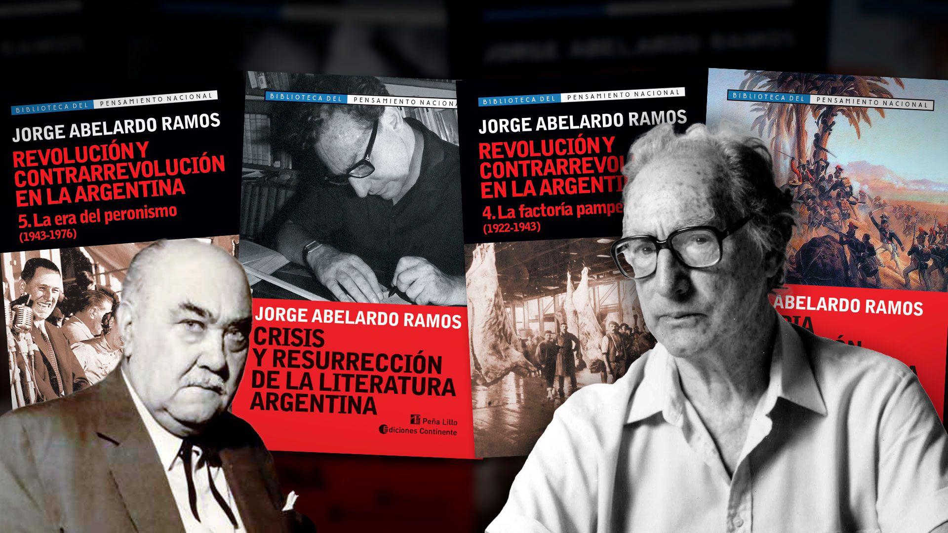 Jorge Abelardo Ramos collage portada