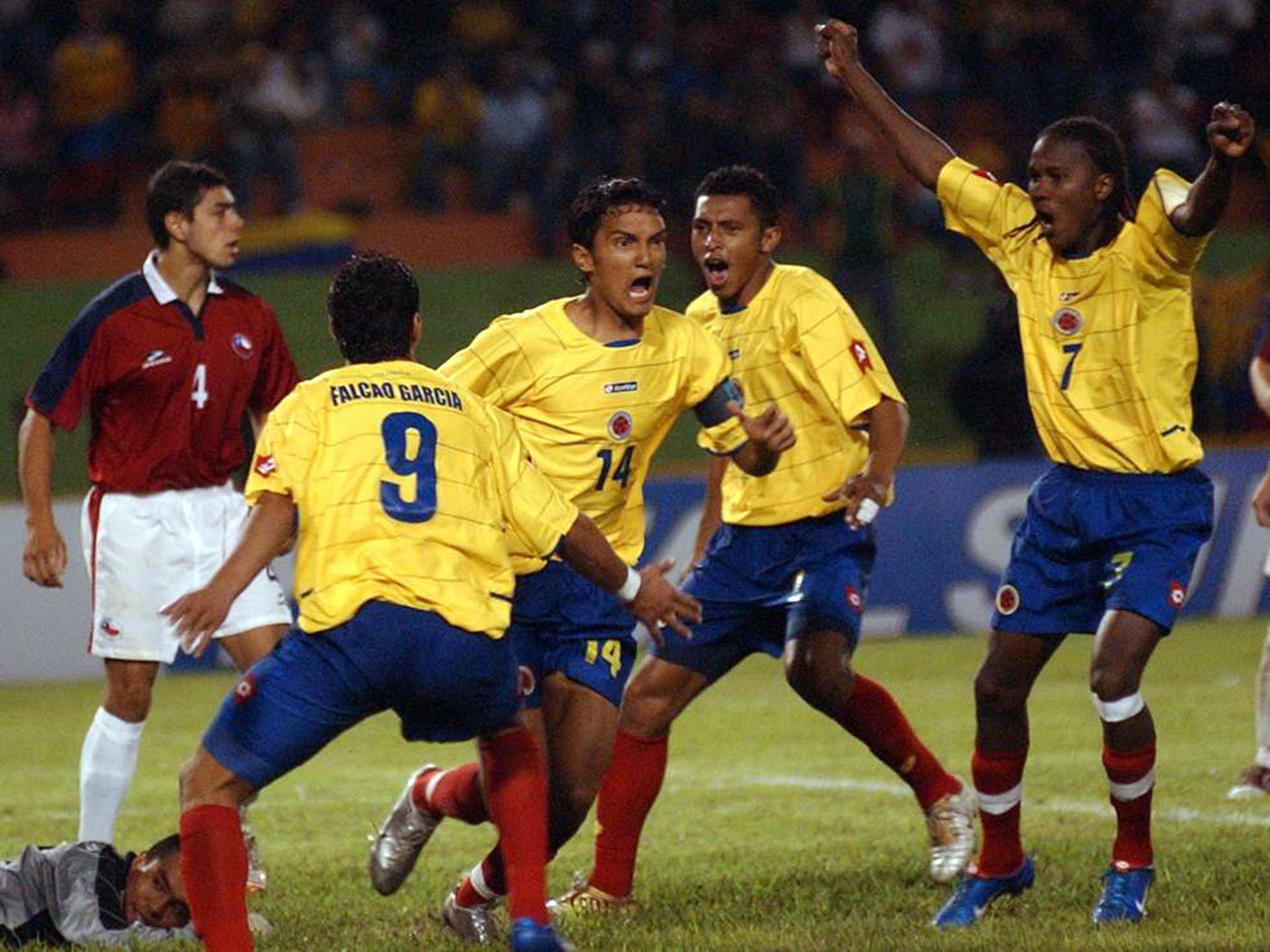 Hugo Rodallega .  sudamericano sub20 2005 SF