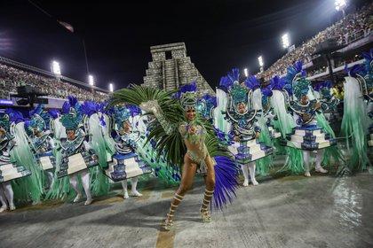 Unidos da Tijuca samba school REUTERS/Ricardo Moraes