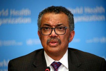 El director general de la Organización Mundial de la Salud (OMS), Tedros Adhanom Ghebreyesus (REUTERS/Denis Balibouse/Archivo)