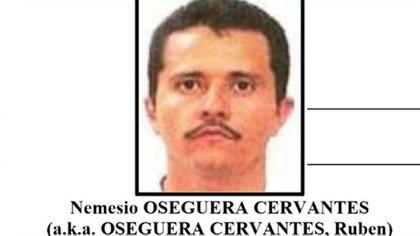 """Nemesio Oseguera Cervantes, alias """"El Mencho"""", líder del CJNG (Foto: archivo)"""