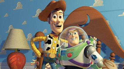 Woody y Buzz, los protagonistas de Toy Story