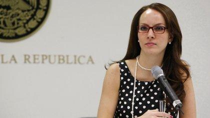 Gabriela Cuevas, también ex panista que se sumó a AMLO
