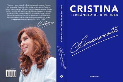 El libro cuesta $595 (@CFKArgentina)