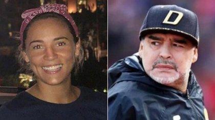 Rocío Oliva y Diego Maradona se separaron en diciembre de 2018