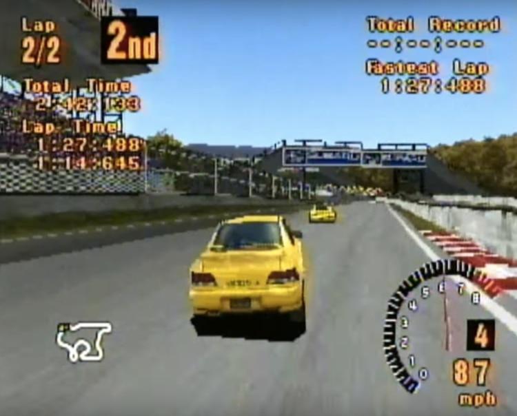 La primera edición de Gran Turismo se lanzó en 1998.
