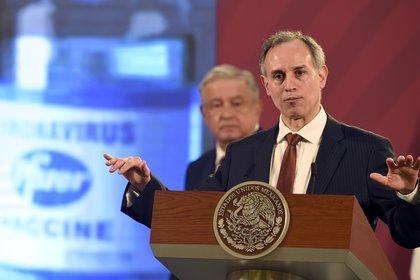 Hugo Lopez-Gatell, subsecretario de Salud (Foto: ALFREDO ESTRELLA / AFP)