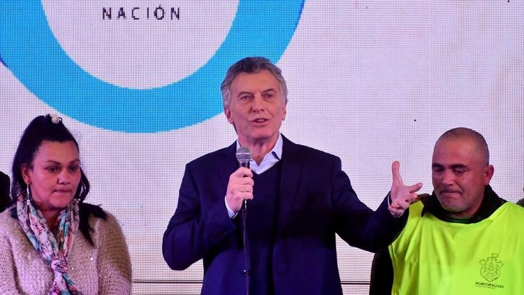 Macri: «Esperamos el desembolso del FMI porque hemos cumplido con todo»