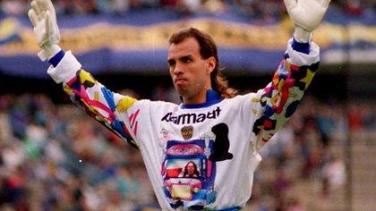 Carlos Navarro Montoya es el quinto jugador que más veces vistió la camiseta de Boca con nada menos que 479 partidos.