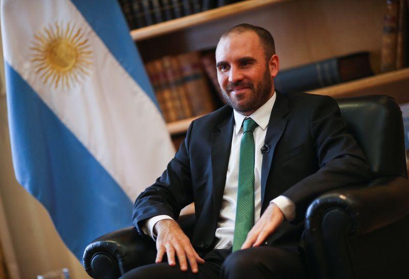El ministro de Economía de Argentina, Martín Guzmán, habló en la asamblea del FMI