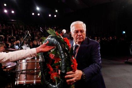 El títular de la Asamblea Nacional de Azerbaiyán, Ogtay Asadov. Foto: Ronen Zvulun/REUTERS
