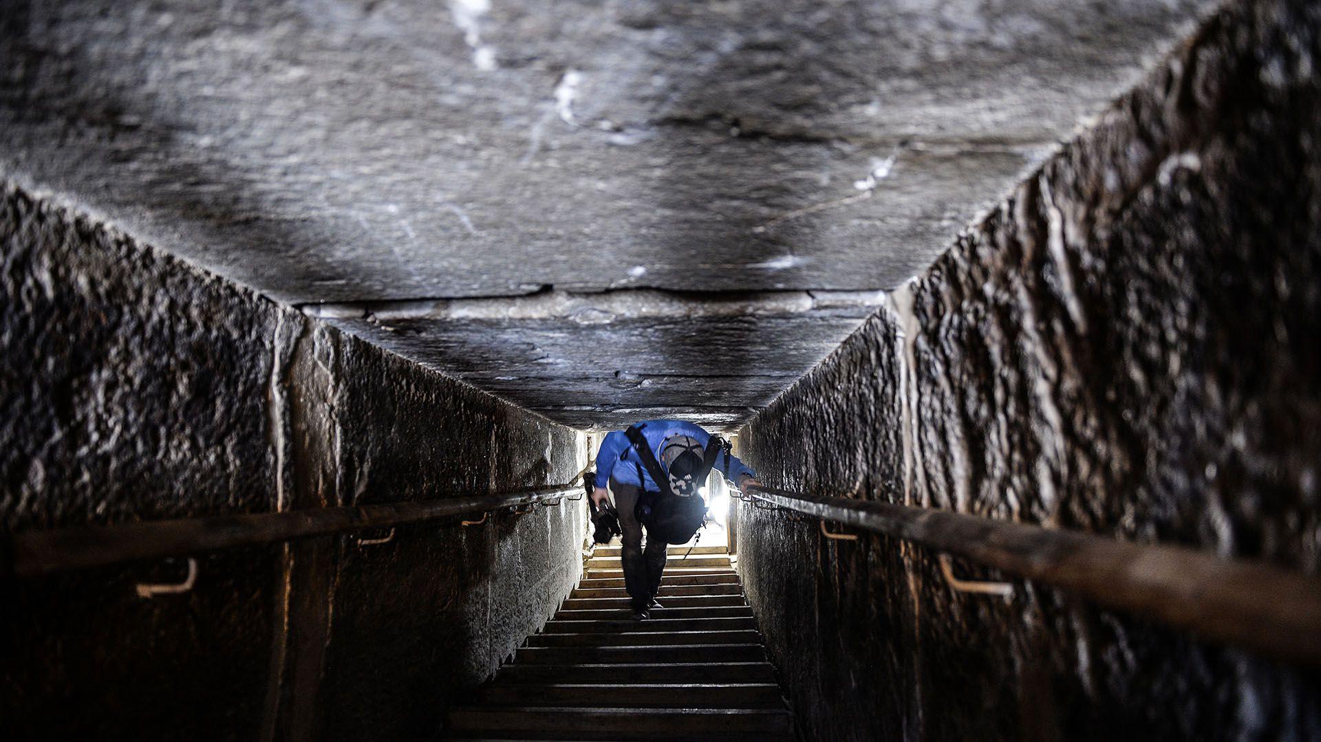 La pirámide fue cerrada al público en 1965(Mohamed el-Shahed/AFP)