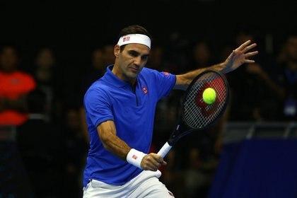 Por cada uno de sus partidos de exhibición, Federer cobra cerca de USD 2 millones. (Foto: Claudio Reyes/AFP)