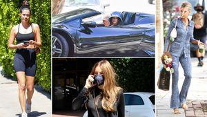 Sofía Vergara paseó por Beverly Hills y Vanessa Hudgens lo hizo en un Lamborghini: celebrities en un click