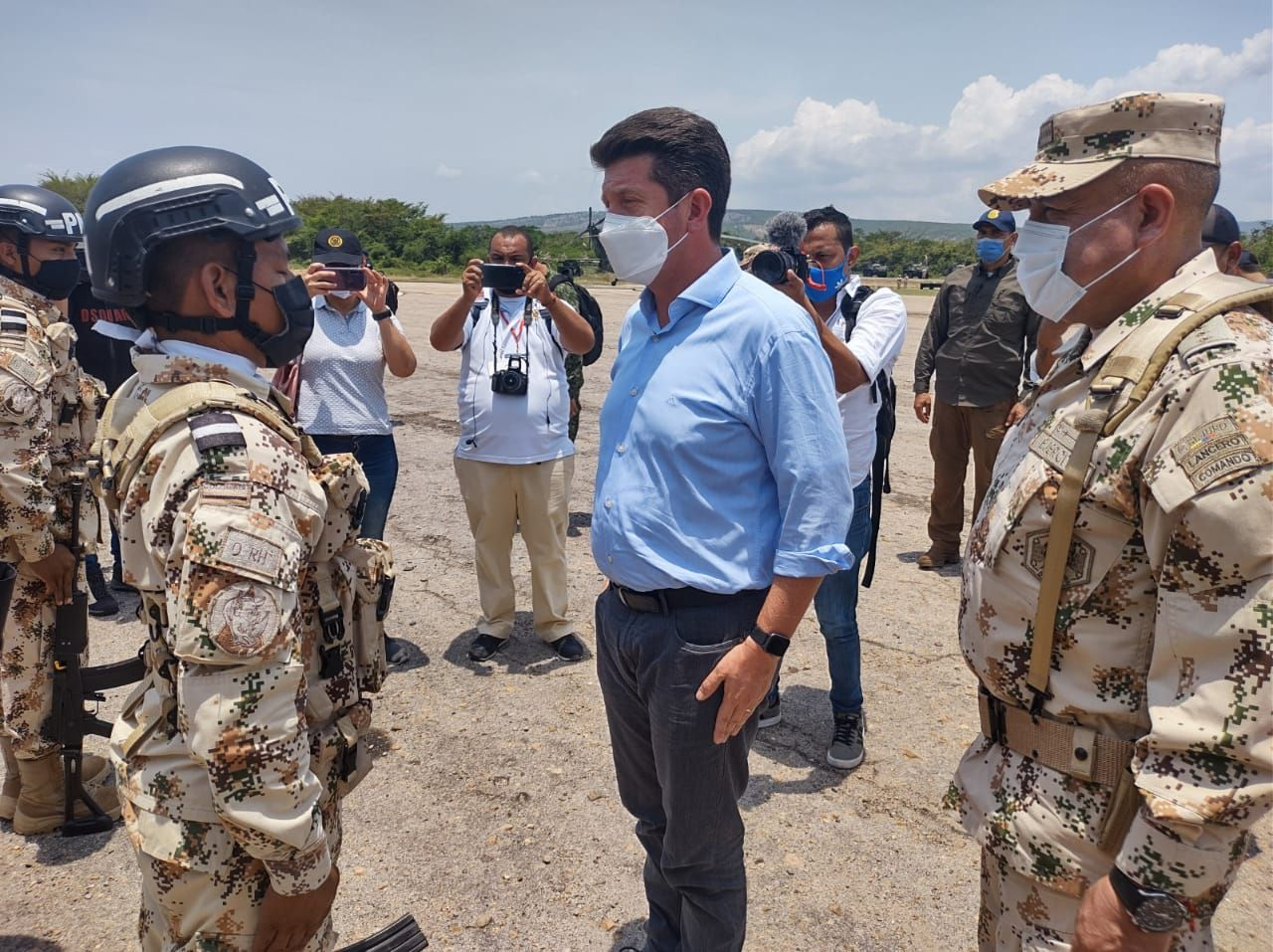 MinDefensa dice que Colombia está preparada para un conflicto internacional