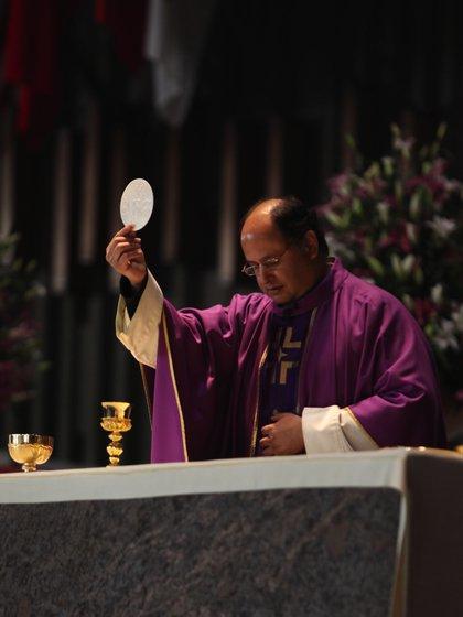 Monseñor Salvador Martínez Ávila, rector de la Basílica de Guadalupe (Foto: Twitter/INBGuadalupe)